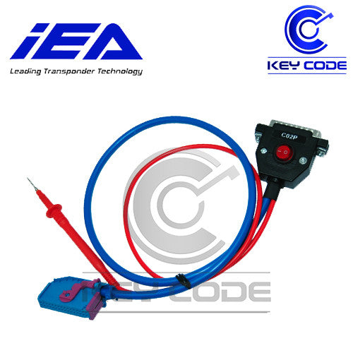 Zed-Full C02P VAG UDS Cluster Connection Cable - Key Code USA