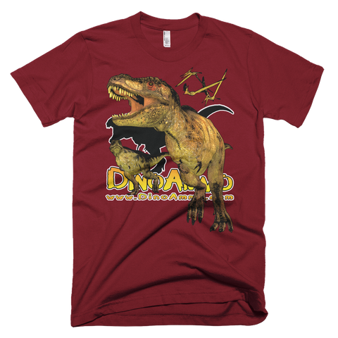 Dino Ammo Tyrannosaurus Rex Full Color Short-Sleeve T-Shirt