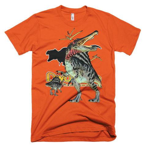 Dino Ammo Spinosaurus Full Color Short-Sleeve T-Shirt