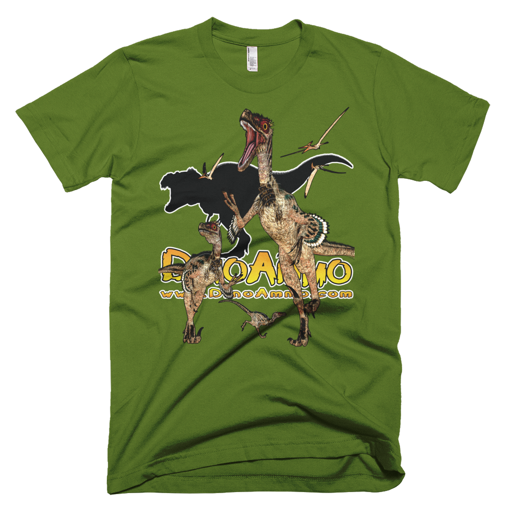 Dino Ammo Velociraptor Full Color Short-Sleeve T-Shirt