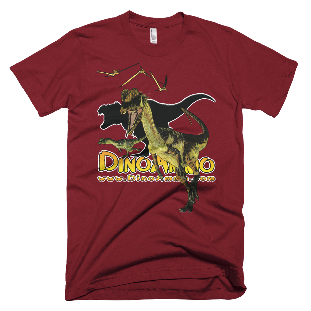 Dino Ammo Dilophosaurus Full Color Short-Sleeve T-Shirt