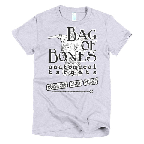 Bag of bones anatomical Short sleeve women's t-shirt