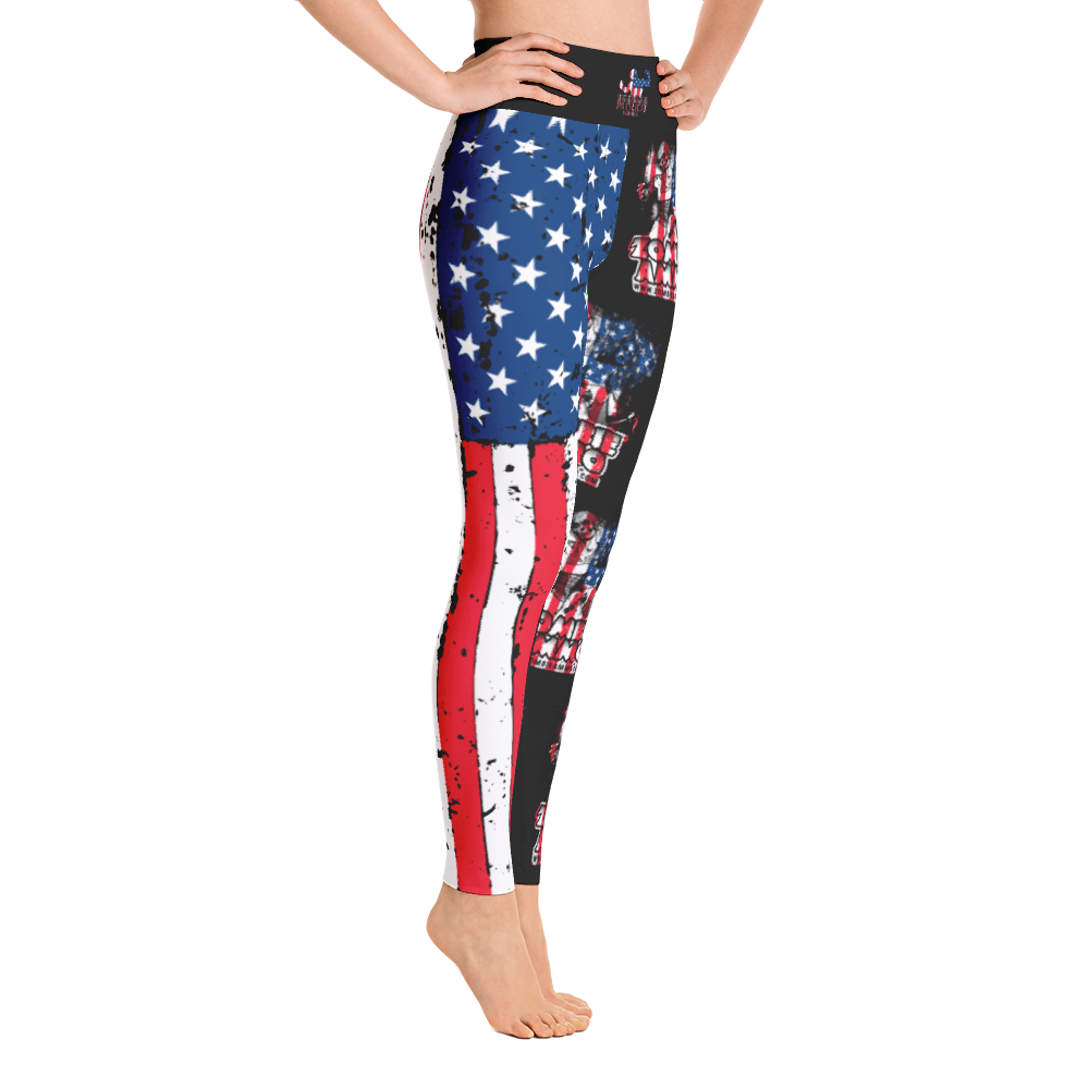 Zombie Ammo Classic Patriot Yoga Leggings