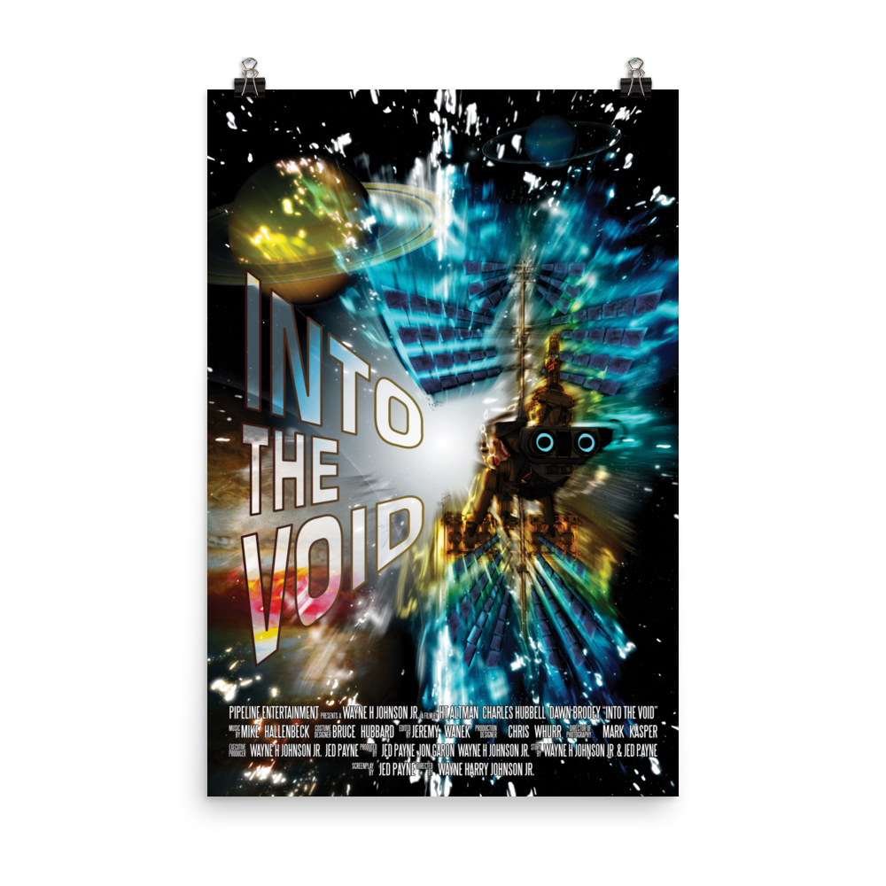 "Into The Void ""Saturation"" Movie Poster 24x36"