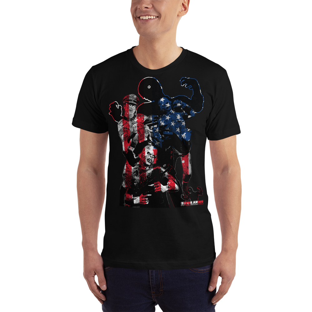 Zombie Ammo Patriot Zombie Nazi Short-Sleeve T-Shirt