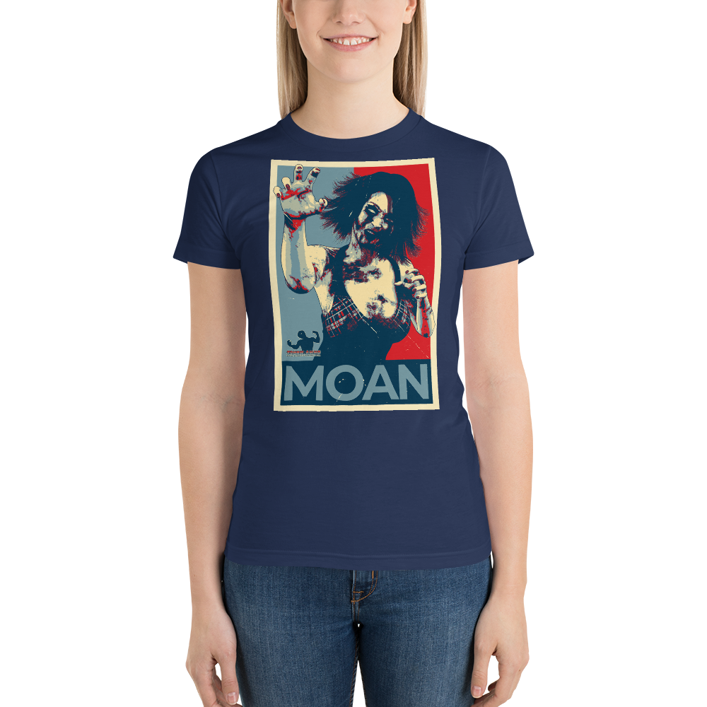 #VOTE Moan! Short sleeve women's t-shirt
