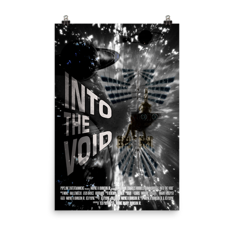 "Into The Void ""Black"" Movie Poster 24x36"
