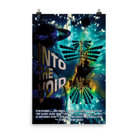 "Into The Void ""Blue"" Movie Poster 24x36"