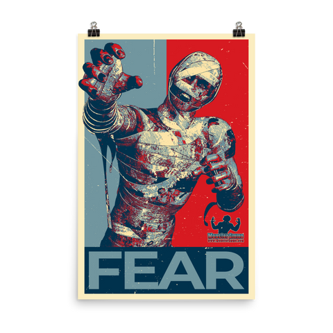 FEAR Vote Poster