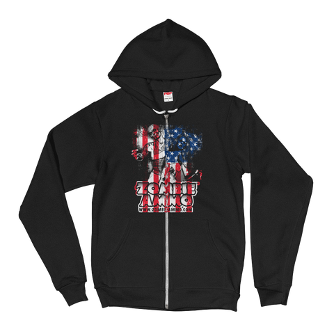 Zombie Ammo Classic Patriot Hoodie sweater