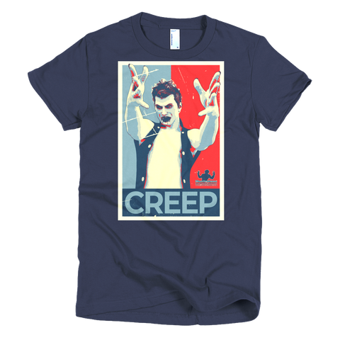 #VOTE Creep! Short sleeve women's t-shirt