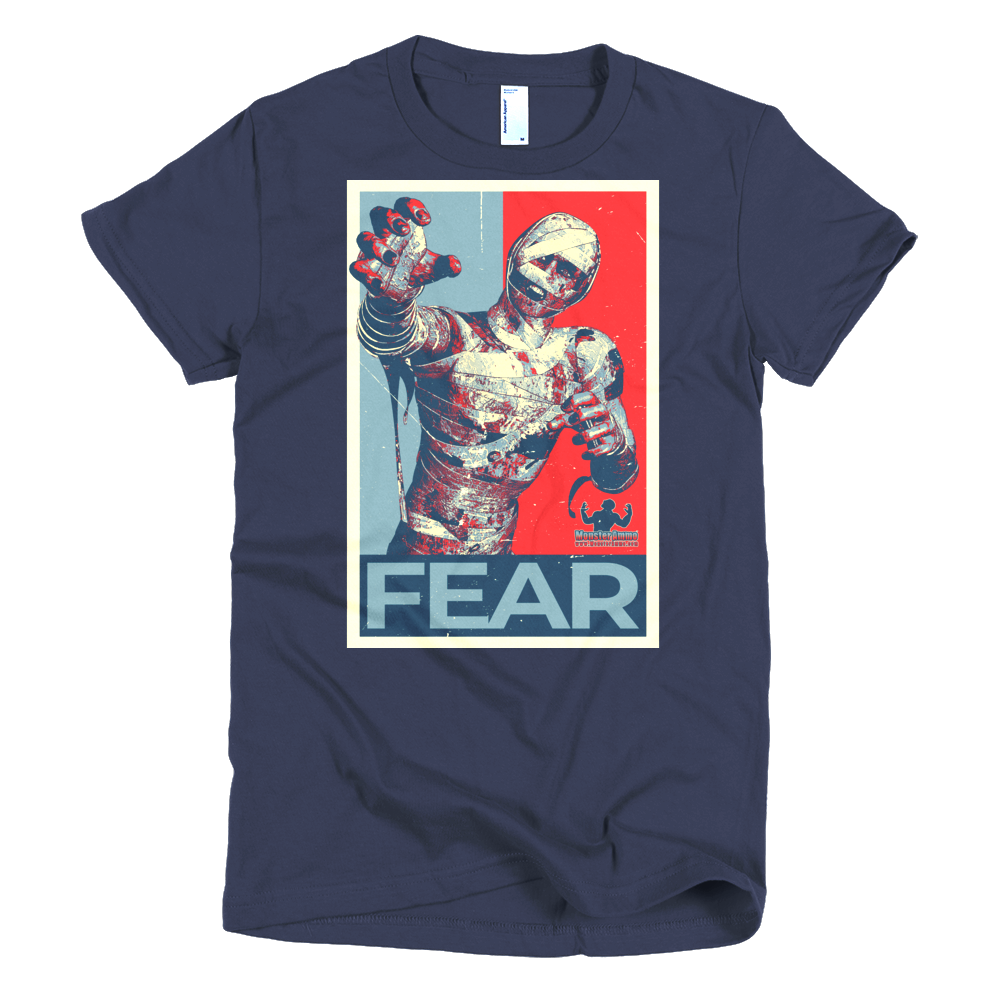 #VOTE Fear! Short sleeve women's t-shirt