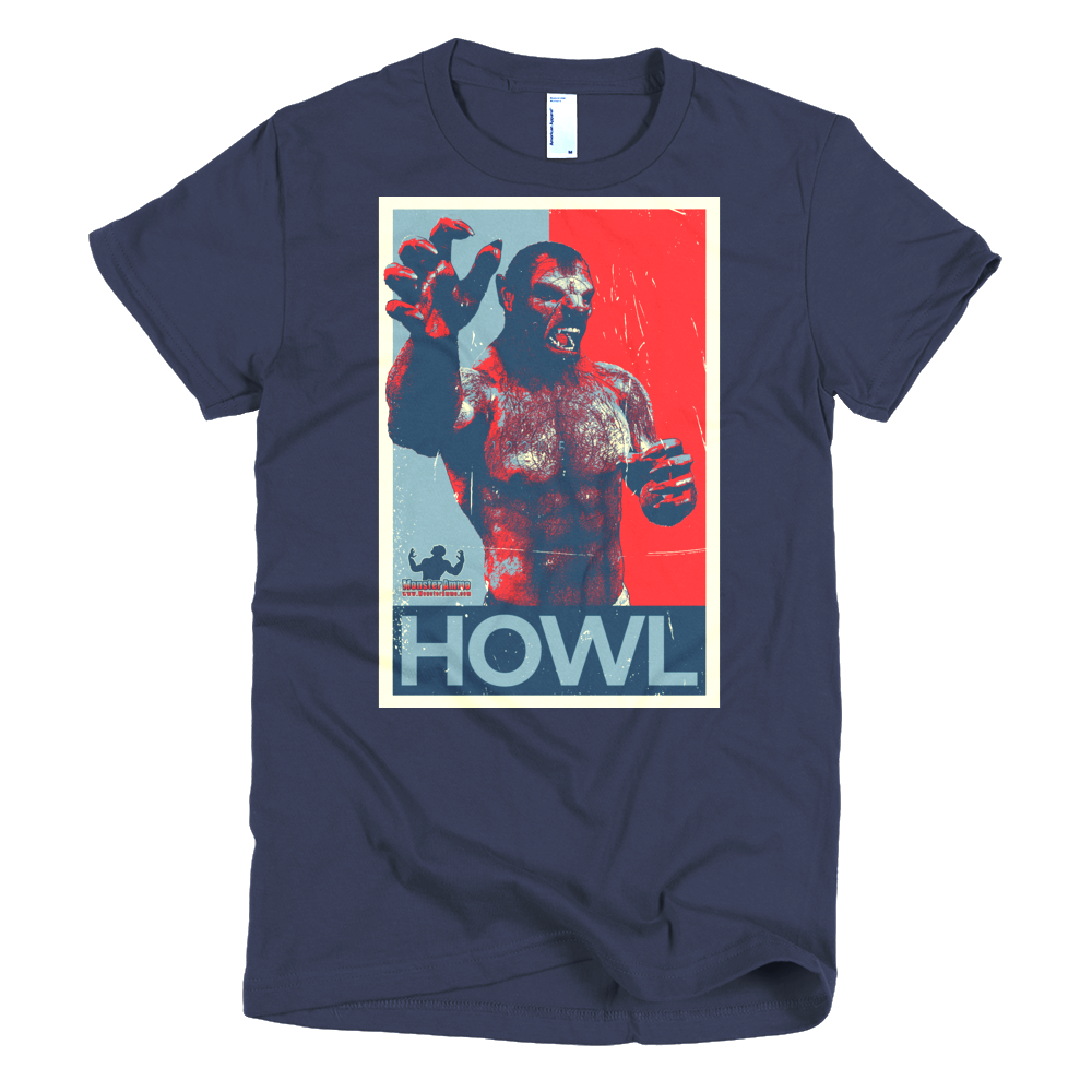 #VOTE Howl! Short sleeve women's t-shirt