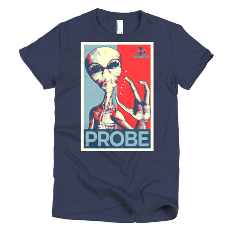 #VOTE Probe! Short sleeve women's t-shirt