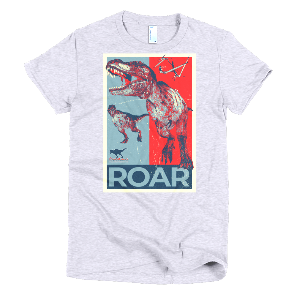 #VOTE Roar! Short sleeve women's t-shirt