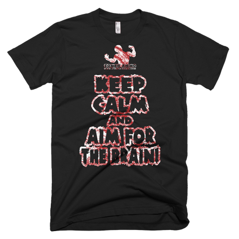 Zombie Ammo Keep Calm Blood Bath Short-Sleeve T-Shirt
