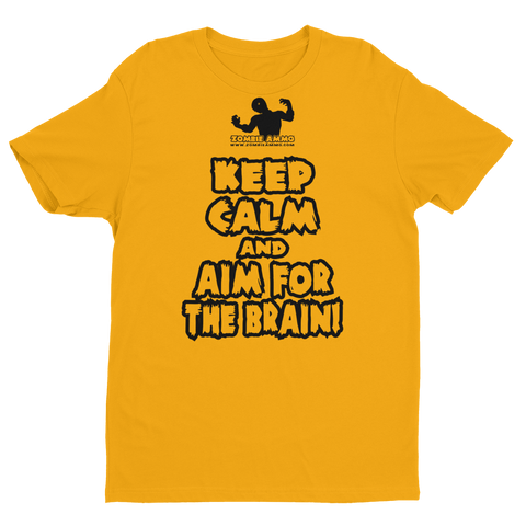 Zombie Ammo Keep Calm K Short Sleeve T-shirt
