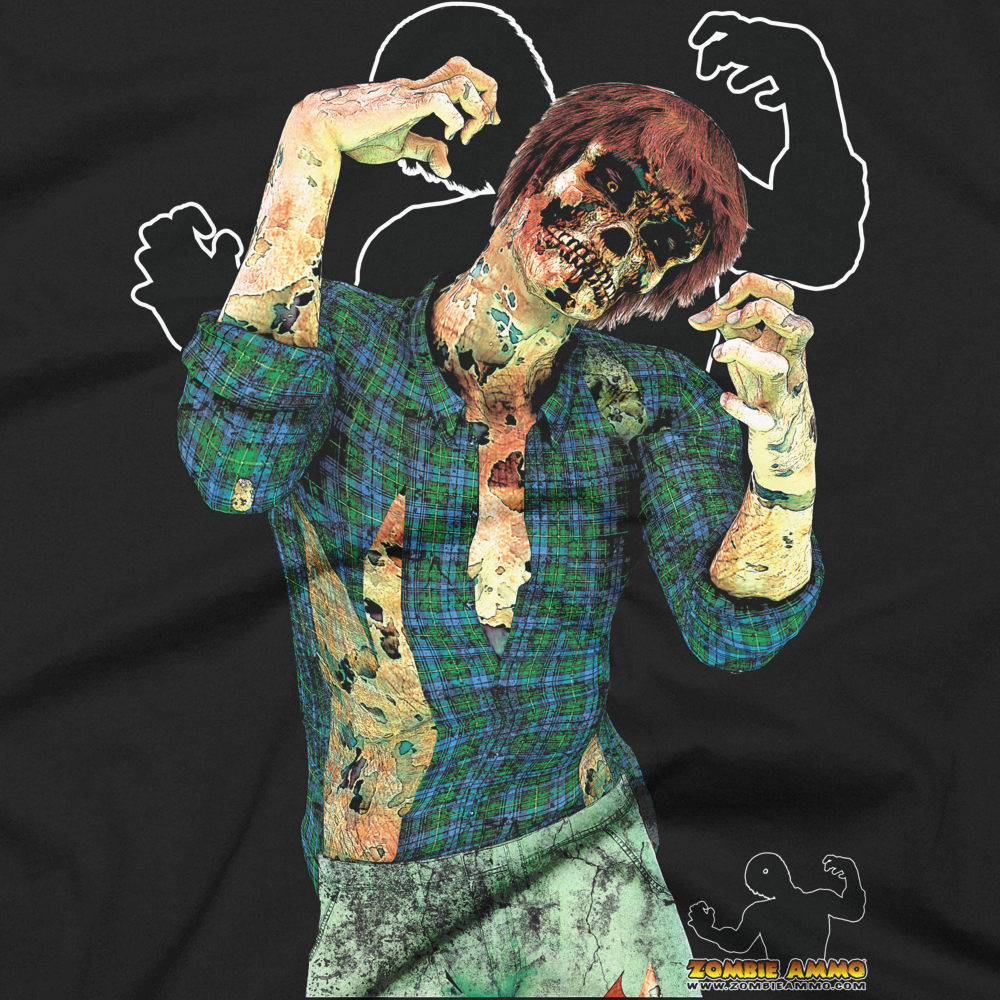 Zombie Ammo Jimmy Full Color Short sleeve men's t-shirt