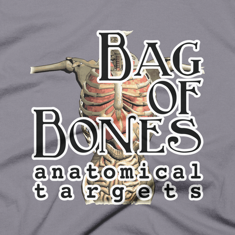 Bag of Bones Logo Short-Sleeve T-Shirt