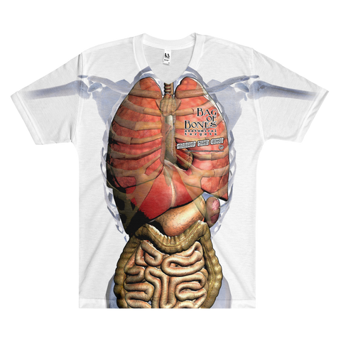 Bag of Bones Anatomical Men's V-Neck T-Shirt