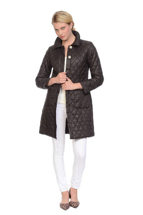 FE16-102 Diamond Quilted Coat