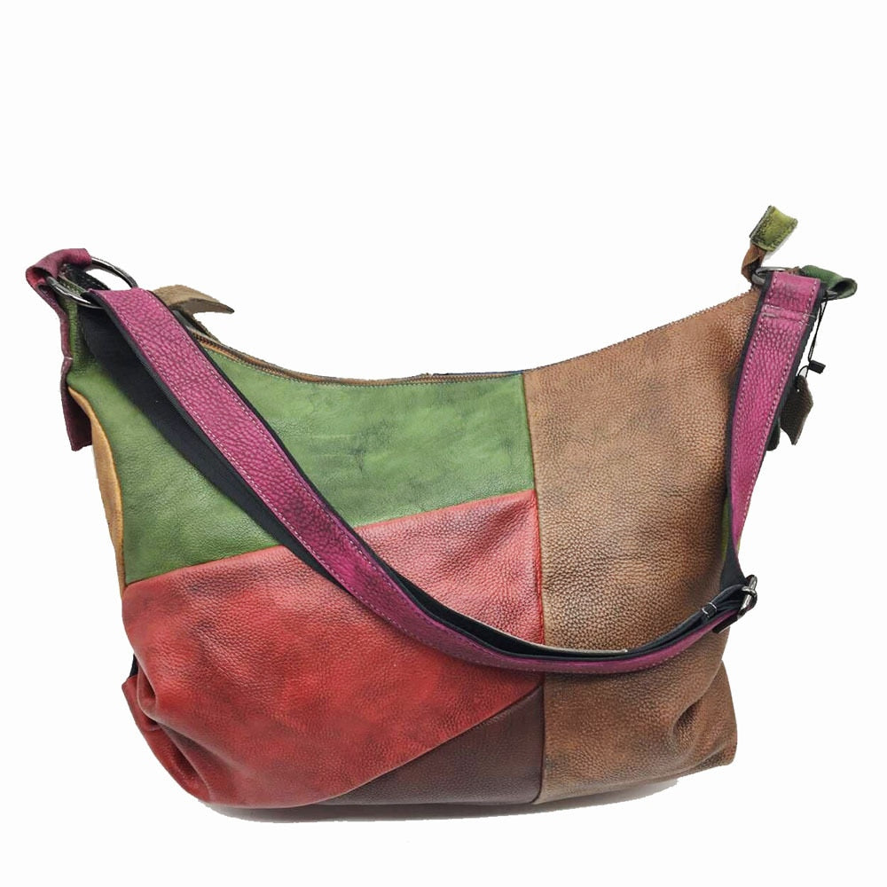 Patchwork Leather Bag