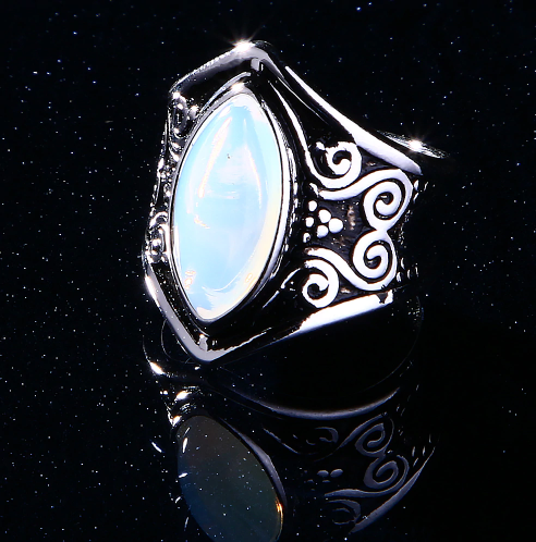 Cosmic Energy Moonstone Ring