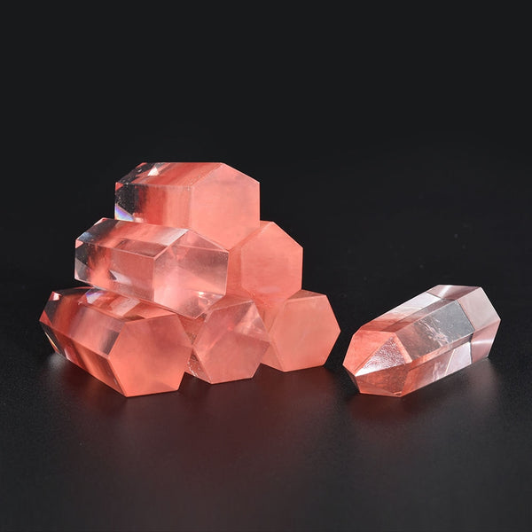 Natural Red Fluorite Healing Crystal