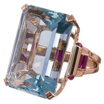 Load image into Gallery viewer, Olesia - Blue Topaz Ring