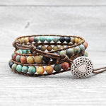 Load image into Gallery viewer, Zamara Mixed Jasper Stone Bracelet