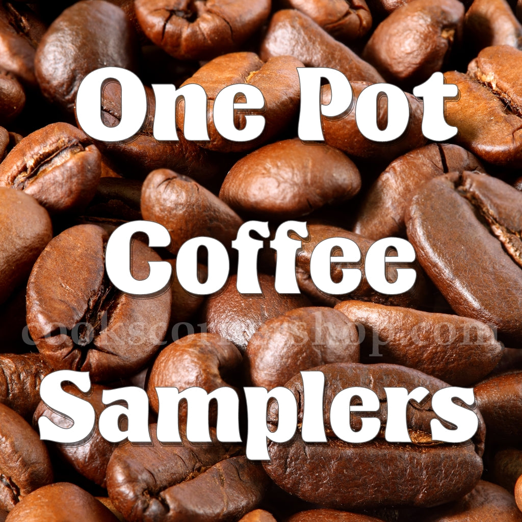 One Pot Coffee Samplers