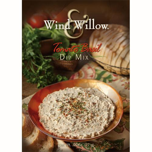 Tomato Basil Dip Mix by Wind & WIllow