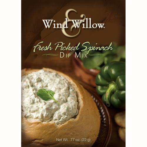 Fresh Picked spinach Dip Mix by Wind & Willow
