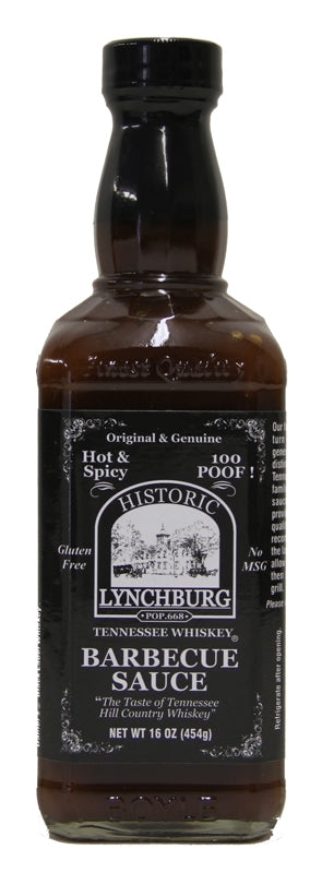 Historic Lynchburg Tennessee Whiskey BBQ Sauce HOT n SPICY