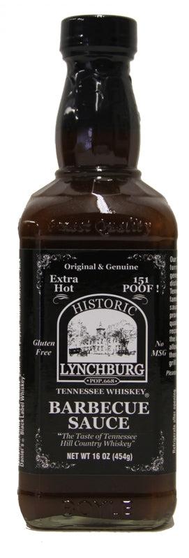 Historic Lynchburg Tennessee Whiskey BBQ Sauce EXTRA HOT