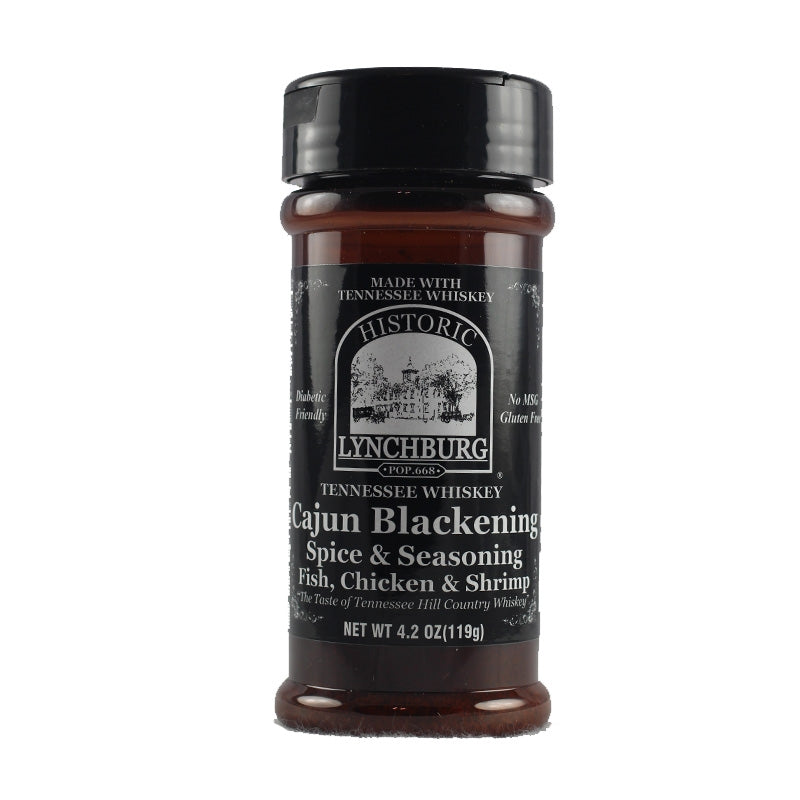 Historic Lynchburg Tennessee Whiskey Cajun Blackening Spice & Seasoning