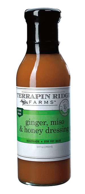 Ginger, Miso and Honey Salad Dressing - TR