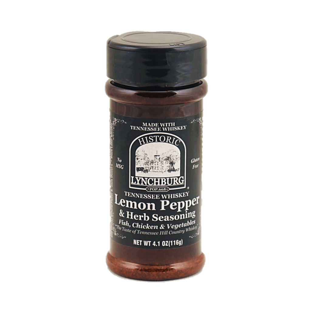 Tennessee Whiskey Lemon Pepper Seasoning - HL