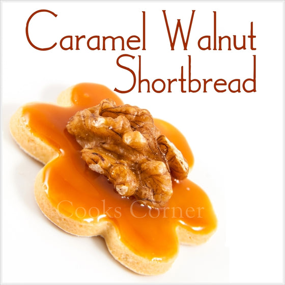 Caramel Walnut Shortbread