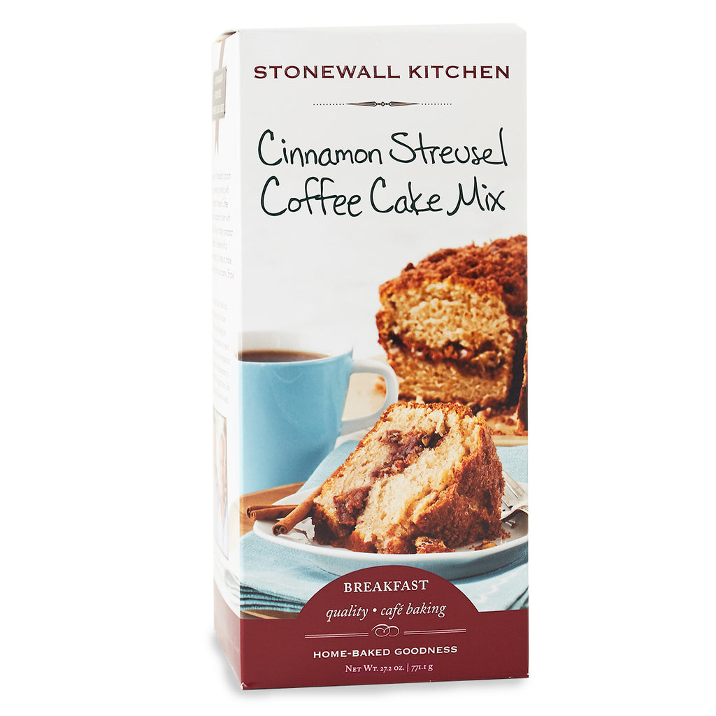 Cinnamon Streusel Coffee Cake by Stonewall Kitchen