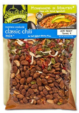 Frontier Soup Montana Creekside Classic Chili Mix