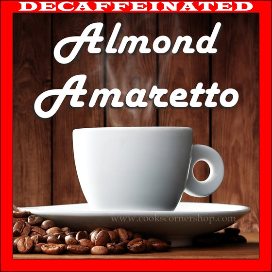 Decaf Almond Amaretto Flavored Coffee