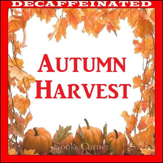 Decaffeinated Autumn Harvest Flavored Coffee