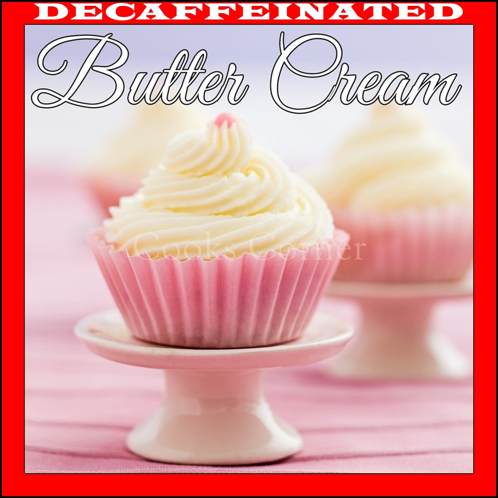 Decaf Buttercream Flavored Coffee