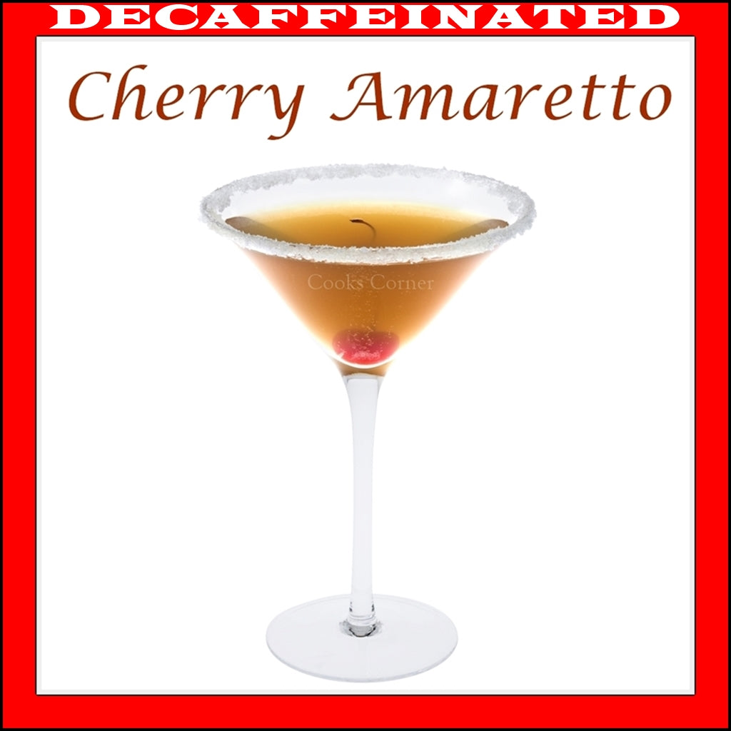 Decaf Cherry Amaretto Flavored Coffee