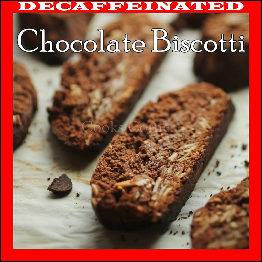 DECAF. Chocolate Biscotti