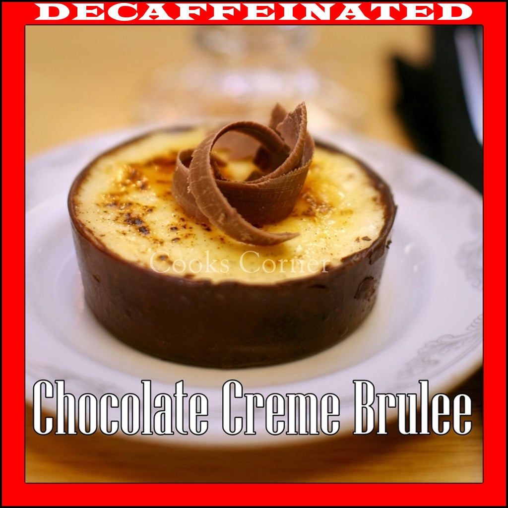 Decaf Chocolate Creme Brulee Flavored Coffee