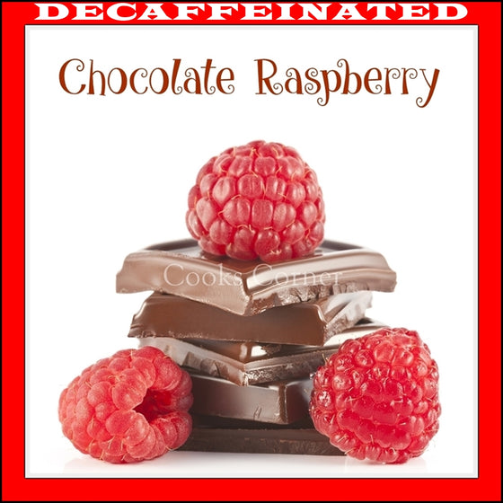 Decaf Chocolate Raspberry Flavored Coffee