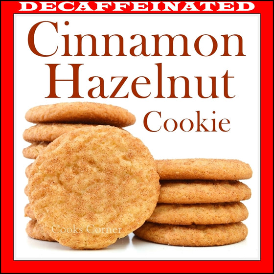 Decaf Cinnamon Hazelnut Flavored Coffee