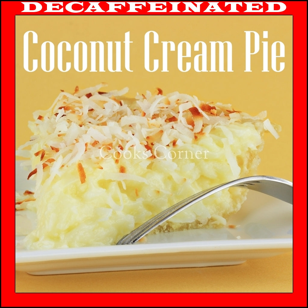 Decaf Coconut Cream Pie Flavored Coffee